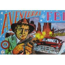 """AVENTURAS DEL FBI. Núm. 154 """"LADRONES DE AUTOMÓVILES""""."""