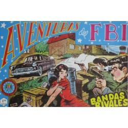 "AVENTURAS DEL FBI. Núm. 156 "" BANDAS RIVALES""."