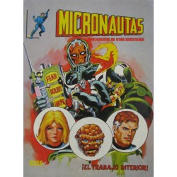 """MICRONAUTAS NÚM 4. """"¡EL TRABAJO INTERIOR!."""
