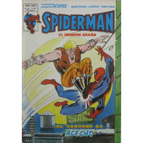 "SPIDERMAN VOL 3 Núm 62 ""¡EL CANGURO AL ACECHO!"""