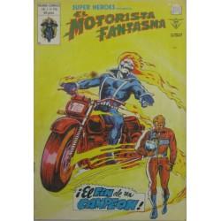 """EL MOTORISTA FANTASMA VOL 2 Núm 128 """"¡EL FIN DE UN CAMPEÓN!"""""""