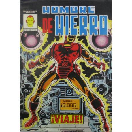 """HOMBRE DE HIERRO Núm 3 """"¡VIAJE!"""""""