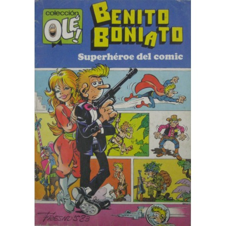 """BENITO BONIATO Núm 1. """" SUPERHÉROE DEL CÓMIC"""""""