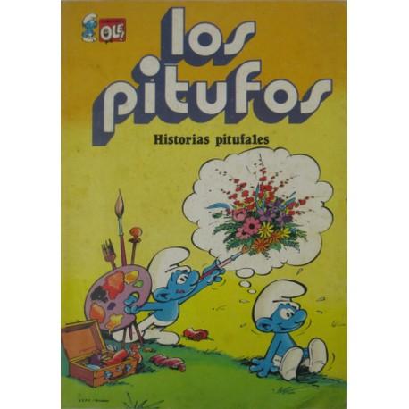 """LOS PITUFOS Núm 9 """" HISTORIAS PITUFALES"""""""