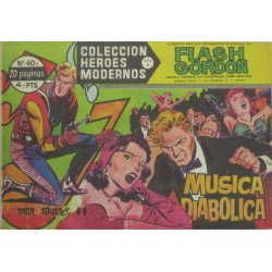 "FLASH GORDON. Núm 40.""Música diabólica"""