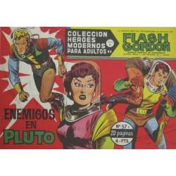 "FLASH GORDON. Núm  57 ""Enemigos en Pluto"""