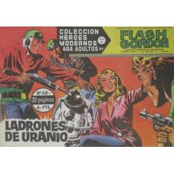 """FLASH GORDON. Núm 68 """"Ladrones de uranio"""""""