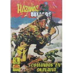 "HAZAÑAS BÉLICAS Núm 12 "" COMANDOS EN OKINAWA"""
