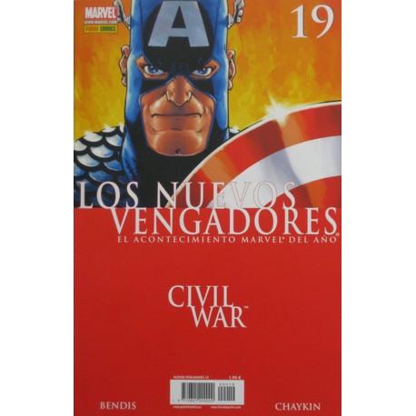 LOS NUEVOS VENGADORES Núm 19 CIVIL WAR.