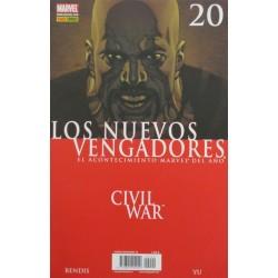 LOS NUEVOS VENGADORES Núm 20 CIVIL WAR.