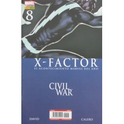 X- FACTOR Núm 8 CIVIL WAR