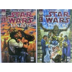 STAR WARS. UNION. LA BODA DE LUKE Y MARA.