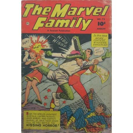 THE MARVEL FAMILY VOL 13 Núm 74