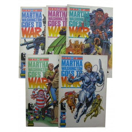 MARTHA WASHINGTON GOES TO WAR. COMPLETA